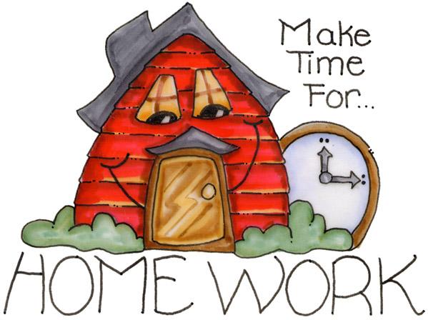 take time for homework